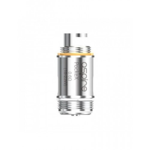 Aspire PockeX 0.6Ω Coils pack of 5