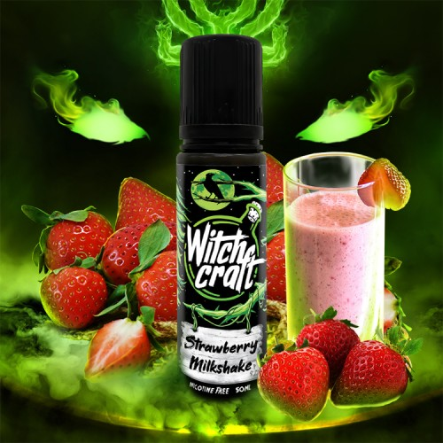Strawberry Milkshake 50ml Shortfill